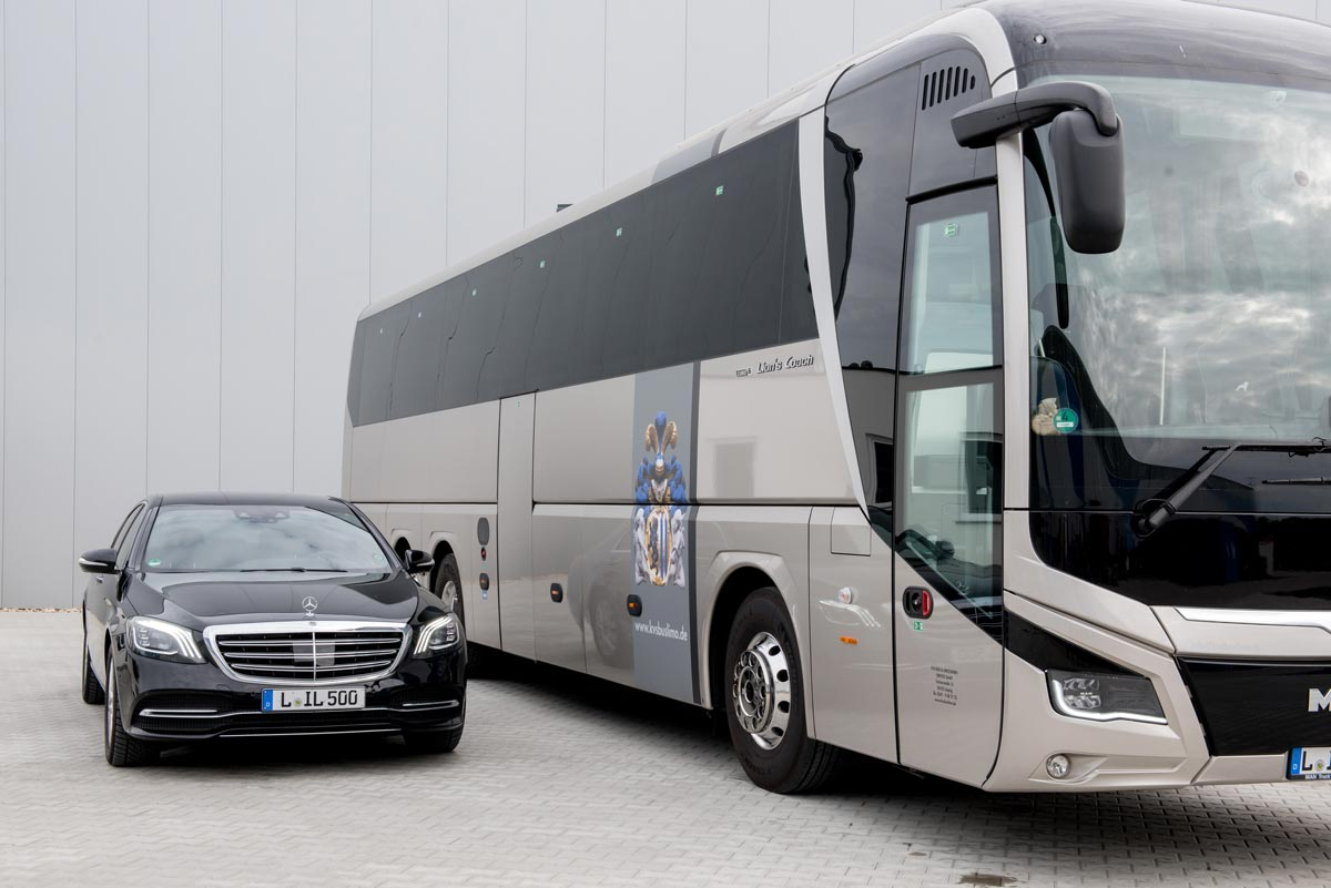 Limousine and coach