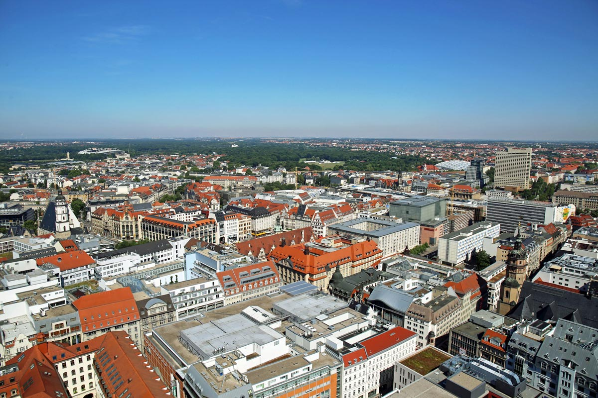 Leipzig city centre