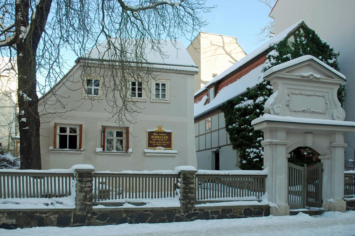Schillerhaus in winter